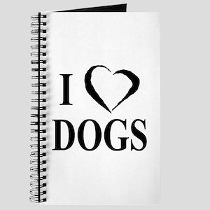 Dogs (B&W) Journal