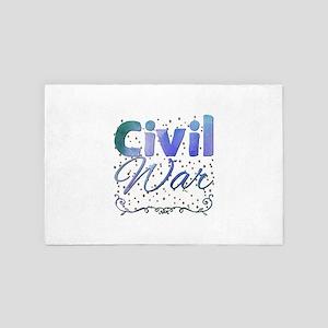 Civil War 4' x 6' Rug