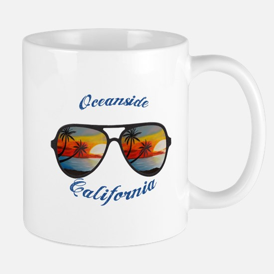 California - Oceanside Mugs
