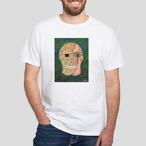 White Scarab T-Shirt