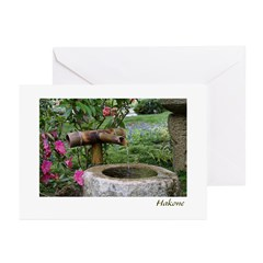 Bamboo Water Basin Greeting Cards (Pk of 10)