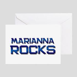 marianna rocks Greeting Card