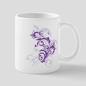 PURPLE SWIRLS_4 Mug