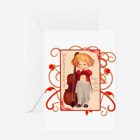 Very Cute Retro Valentine Greeting Card