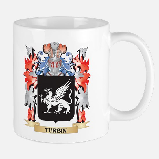 Turbin Coat of Arms - Family Crest Mugs
