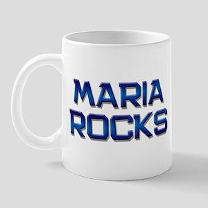 maria rocks Mug