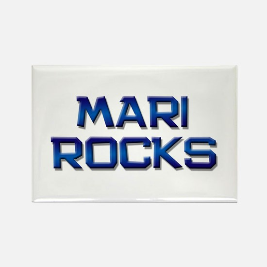 mari rocks Rectangle Magnet