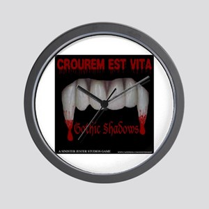 Gothic Shadows Clock