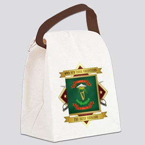 69th NY Volunteer Infantry Canvas Lunch Bag