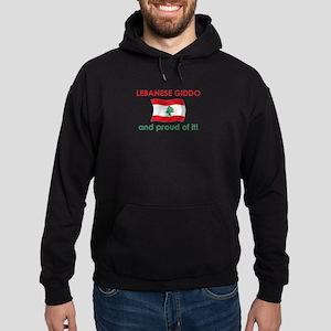 Proud Lebanese Giddo (Grandpa) Hoodie (dark)