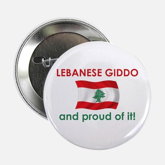"Proud Lebanese Giddo (Grandpa) 2.25"" Button"