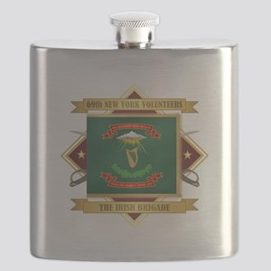 69th NY Volunteer Infantry Flask