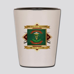 69th NY Volunteer Infantry Shot Glass