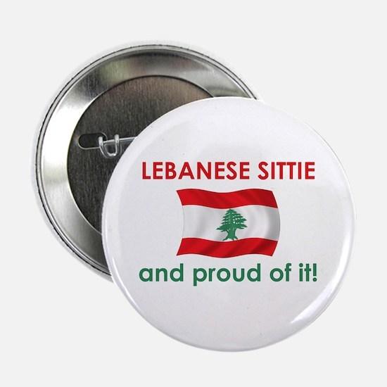 "Proud Lebanese Sittie (Grandma) 2.25"" Button"