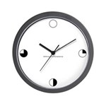 Harvey Balls Wall Clock