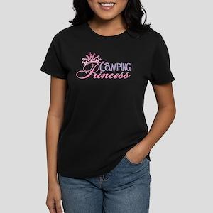 CAMPING PRINCESS Women's Dark T-Shirt