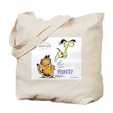 My Way Garfield Tote Bag