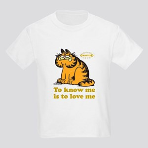 To Know Me Is To Love Me Kids Light T-Shirt
