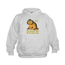To Know Me Is To Love Me Kids Hoodie
