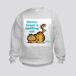 Smiling Cat Kids Sweatshirt