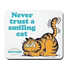 Smiling Cat Mousepad
