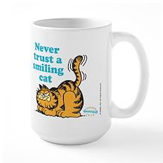 Smiling Cat Large Mug
