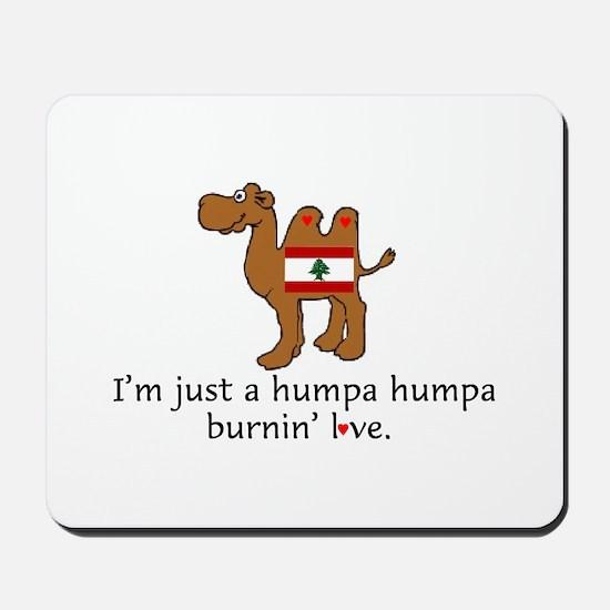 Humpa Burnin Love Mousepad