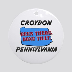 croydon pennsylvania - been there, done that Ornam