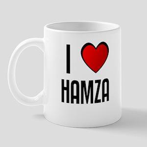 I LOVE HAMZA Mug