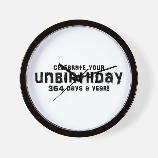 Unbirthday Gifts Wall Clock