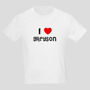 I LOVE GREYSON Kids T-Shirt