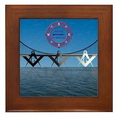 The Masons Bridge Framed Tile