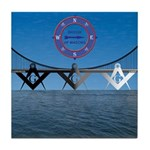 The Masons Bridge Tile Coaster