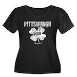 Pittsburgh Shamrock 2009 Women's Plus Size Scoop N