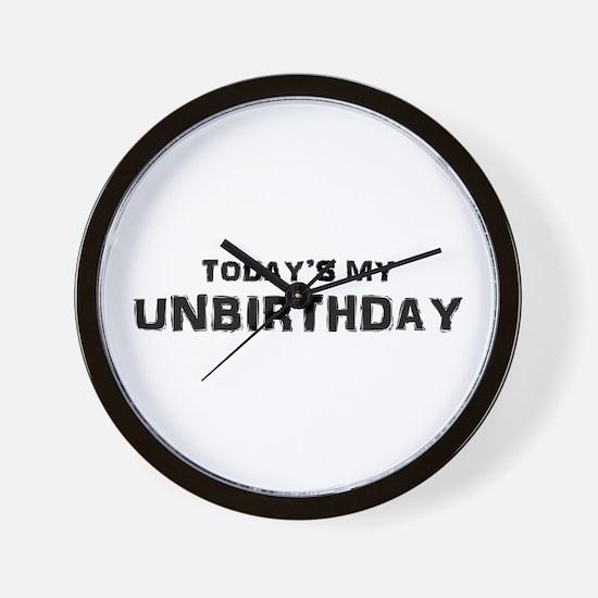 Unbirthday Presents Wall Clock