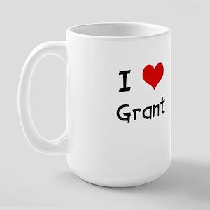 I LOVE GRANT Large Mug