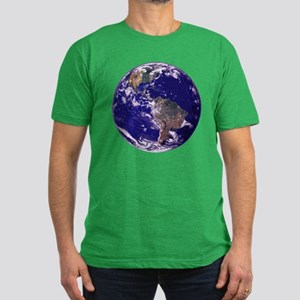 EARTH Men's Fitted T-Shirt (dark)