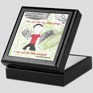 Angel Wings and Little Things Keepsake Box