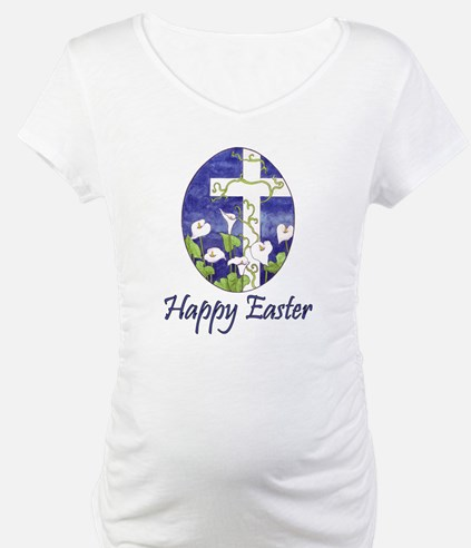 Easter Lily Cross Shirt
