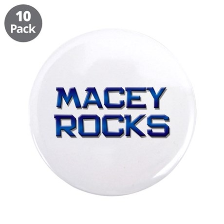 "macey rocks 3.5"" Button (10 pack)"