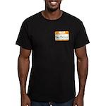 Pat McGroin Name Tag Men's Fitted T-Shirt (dark)