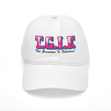 TGIF Fabulous Grandma Cap