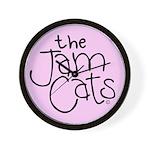 The Jam Cats Wall Clock