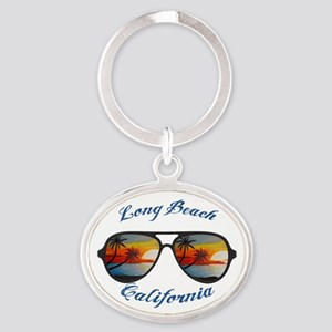 California - Long Beach Keychains