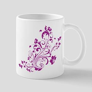 PURPLE SWIRLS_6 Mug