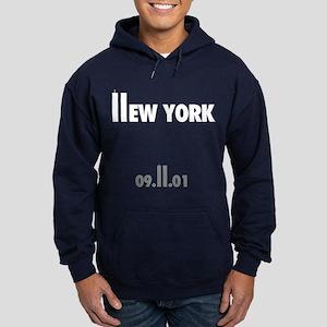 9-11 New York Hoodie (dark)