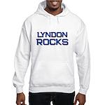 lyndon rocks Hooded Sweatshirt