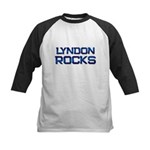 lyndon rocks Kids Baseball Jersey