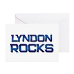lyndon rocks Greeting Cards (Pk of 10)