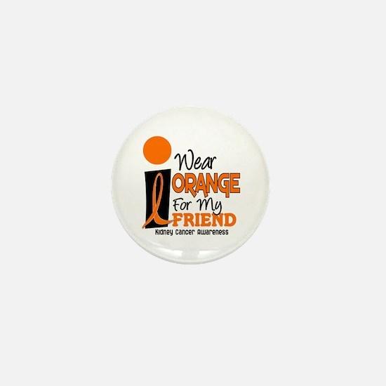I Wear Orange For My Friend 9 KC Mini Button